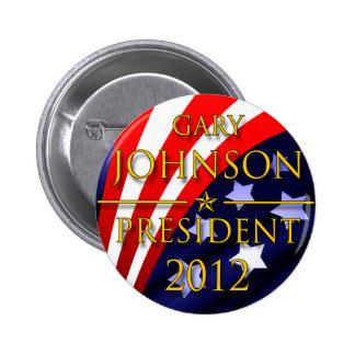 Gary Johnson 2012 Presidential Button