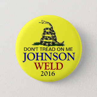 GARY JOHNSON 2016 BUTTON