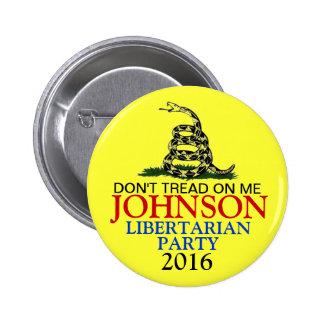 GARY JOHNSON 2016 BUTTONS