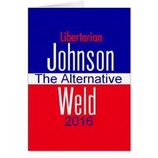 Gary JOHNSON 2016 Card