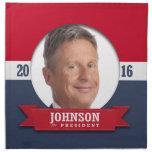 GARY JOHNSON 2016 CLOTH NAPKINS