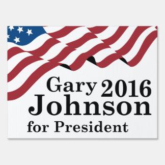 Gary Johnson 2016 Lawn Sign