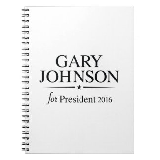 Gary Johnson 2016 Notebook