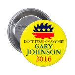 Gary Johnson 2016 Pinback Button