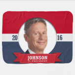 GARY JOHNSON 2016 STROLLER BLANKET