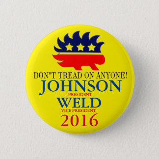 Gary Johnson/Bill Weld 2016 Button