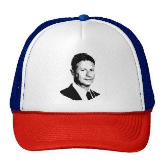 Gary Johnson Bust - -  Trucker Hat