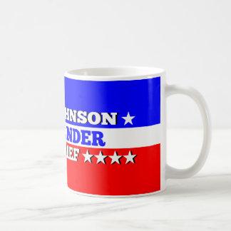 Gary Johnson Commander in Chief Mug