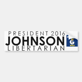 Gary Johnson for President 2016 Bumper Sticker