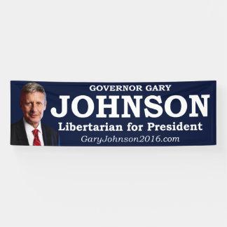 Gary Johnson for President Banner