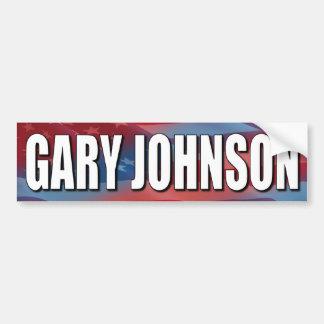 Gary Johnson for President Car Bumper Sticker