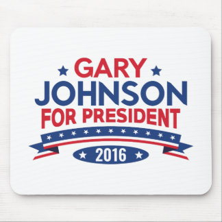 Gary Johnson For President Mouse Pad