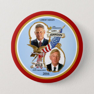 Gary Johnson for President Pinback Button