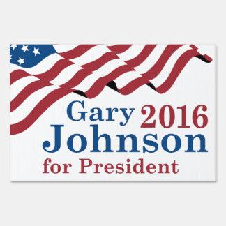 Gary Johnson For President Sign