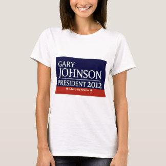 Gary Johnson for President T-Shirt