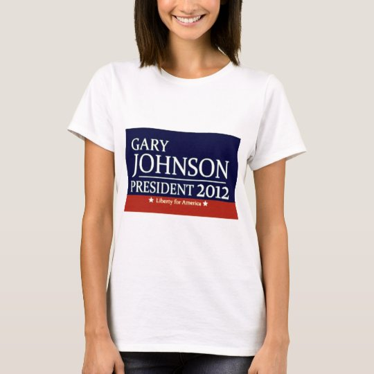 Gary Johnson for President T-Shirt