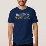 Gary Johnson - logotipo de la campaña de la Remeras