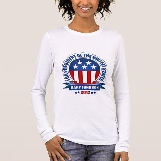 Gary Johnson Long Sleeve T-Shirt