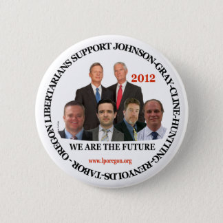 Gary Johnson Oregon Libertarians Button
