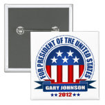 Gary Johnson Pin