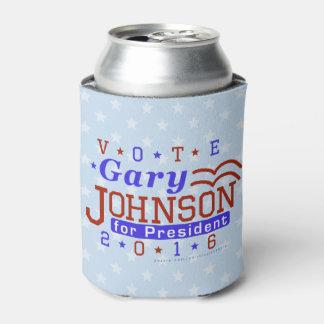 Gary Johnson President 2016 Election Libertarian Can Cooler