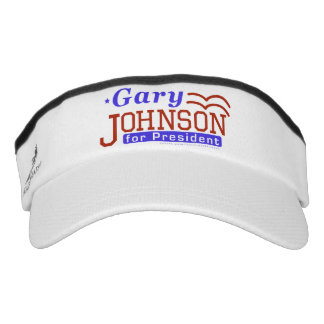 Gary Johnson President 2016 Election Libertarian Visor