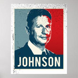 Gary Johnson Propaganda Poster - -