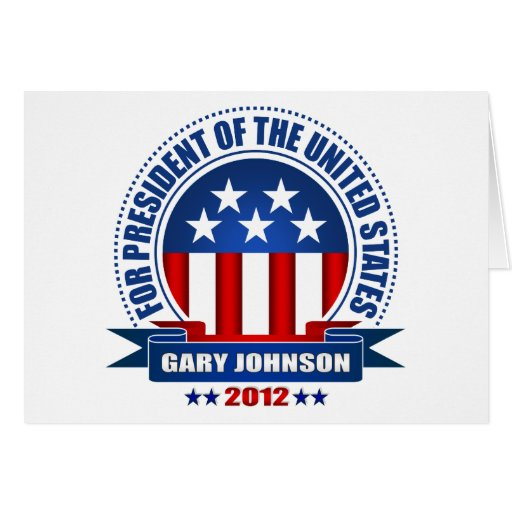 Gary Johnson Tarjetas