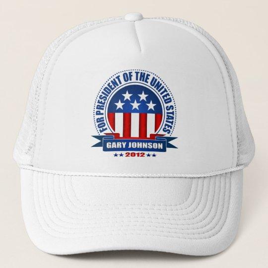 Gary Johnson Trucker Hat