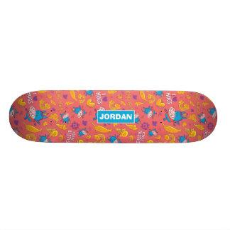 Gary - Pattern Skateboard Deck