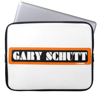 Gary Schutt 70s logo laptop case