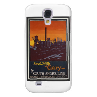 Gary Steelworks IN Poster Samsung Galaxy S4 Covers