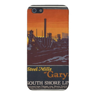 Gary Steelworks IN Poster Cover For iPhone 5