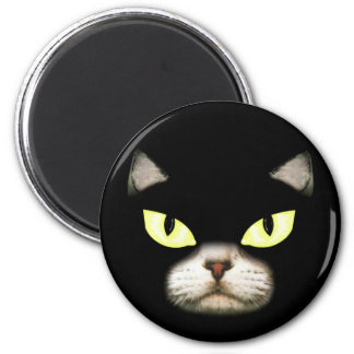 Gary the Cat 2 Inch Round Magnet