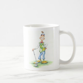 Gary the golfer mug