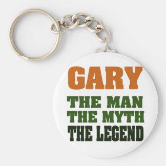 Gary - the Man, the Myth, the Legend! Keychain