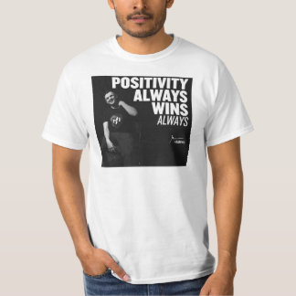 Gary Vaynerchuk Motivation - Positivity Wins T-Shirt