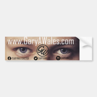 Gary Wales Car Bumper Sticker