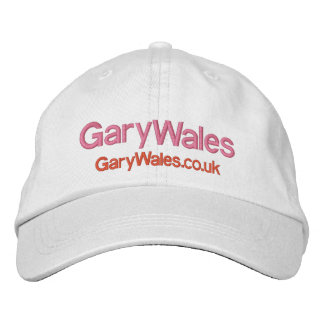 GARY WALES OFFICIAL HAT EMBROIDERED HAT