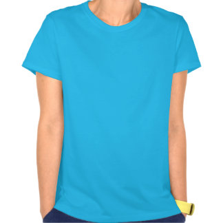 Garza azul en vuelo camiseta