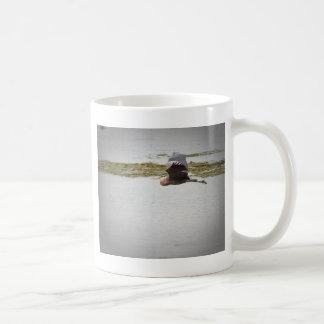Garza azul taza de café