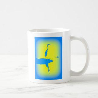 garza azul tazas