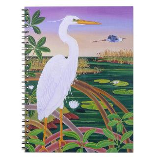 Garza blanca cuadernos