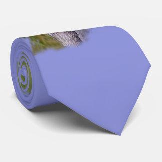 Garza de gran azul corbatas