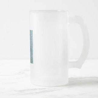 Garza de gran azul en la oscuridad taza de café