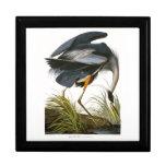 Garza de gran azul, John James Audubon Cajas De Regalo