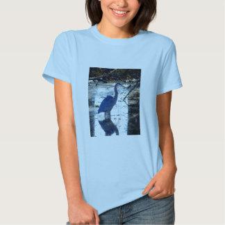 garza de gran azul polera