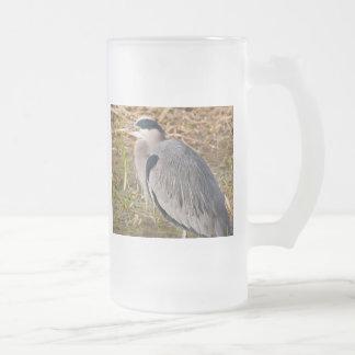 Garza de gran azul taza de café