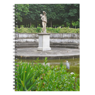 Garza en cuaderno del Paris Photo