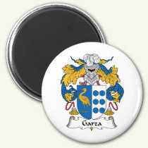 Garza Family Crest Magnet